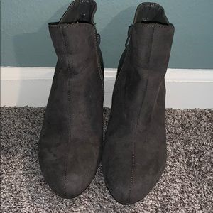 Gray Booties by Express